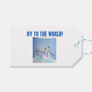 OY TO THE WORLD GIFT TAG