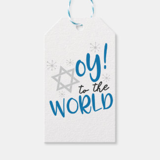 Oy to the World Gift Tags