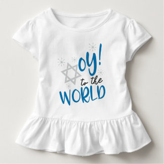Oy to the World Ruffle Shirt