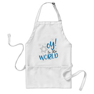 Oy to the World Standard Apron