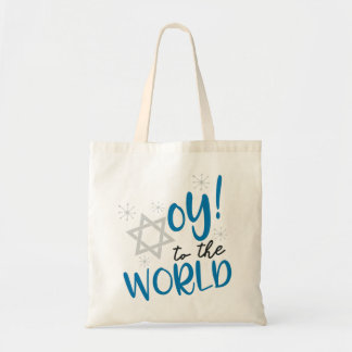 Oy to the World Tote Bag