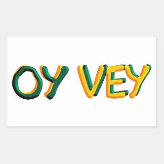 Oy Vey Sticker