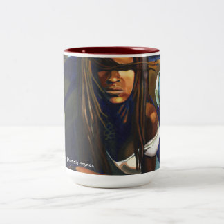 Oya at the Marketplace signature mug