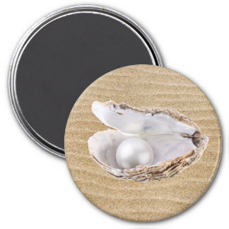 Oyster and Pearl Magnet