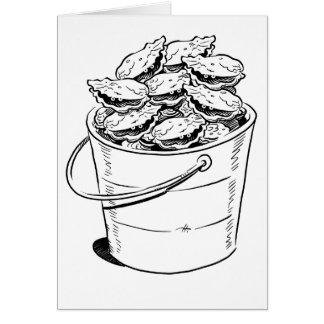 Oyster Bucket Card