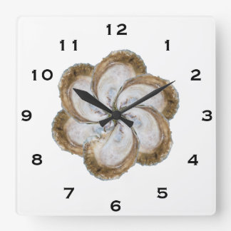 Oyster Flower Clock - Design C