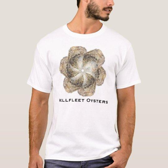 Oyster Flower Shirt - Design B White