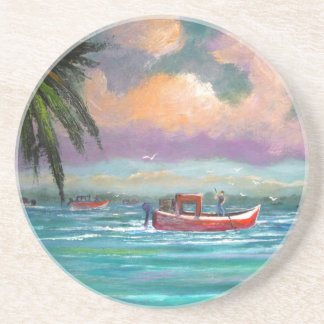 Oyster harvesting in Apalachicola Bay Coasters