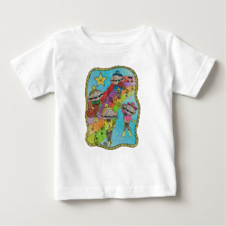 Oyster Mariachi Band Color Baby T-Shirt