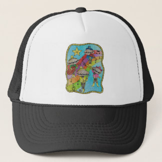 Oyster Mariachi Band Color Trucker Hat