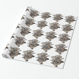 Oyster Mushroom Wrapping Paper