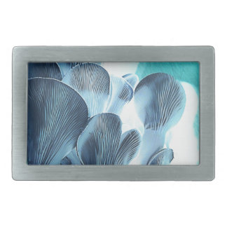 Oyster Mushrooms in Blue Belt Buckle