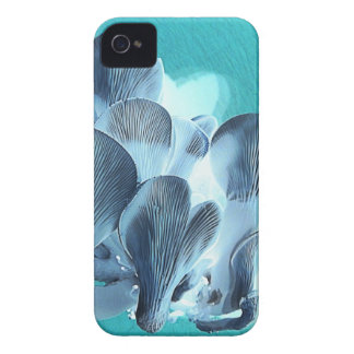 Oyster Mushrooms in Blue iPhone 4 Case
