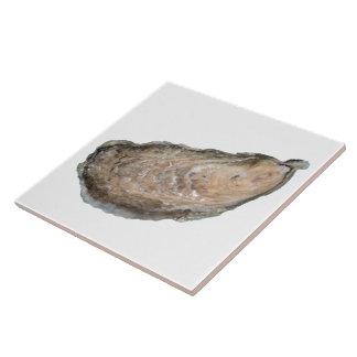 Oyster Tile - Design D White