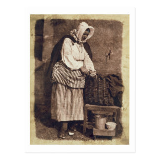 Oyster Woman, 1843-47 (salt paper print from calot Postcard
