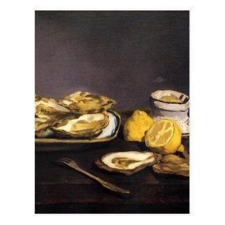 Oysters - Édouard Manet Postcard