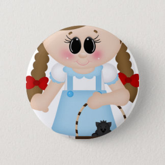 oz dorothy and toto 2 inch round button
