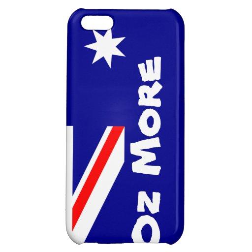 Oz More Australian Flag iPhone Case iPhone 5C Covers