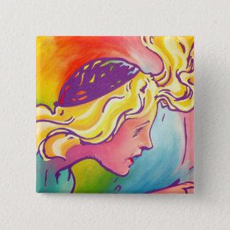 Oz Pinback - Polychrome 2 Inch Square Button