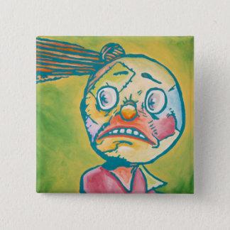 Oz Pinback - Scraps 2 Inch Square Button
