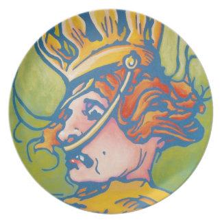 Oz Plate - Queen Ann