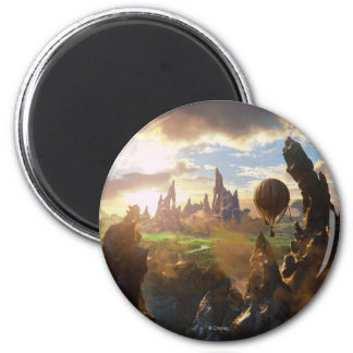 Oz: The Great and Powerful Poster 4 2 Inch Round Magnet