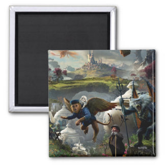 Oz: The Great and Powerful Poster 5 Square Magnet