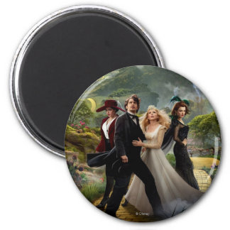 Oz: The Great and Powerful Poster 6 2 Inch Round Magnet