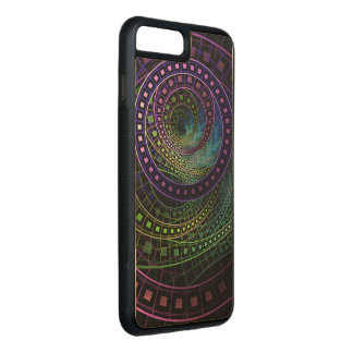 Oz the Great with Technicolor Fractal Rainbow Carved iPhone 8 Plus/7 Plus Case
