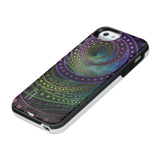 Oz the Great with Technicolor Fractal Rainbow iPhone SE/5/5s Battery Case