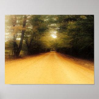 Ozark Dirt Road Poster