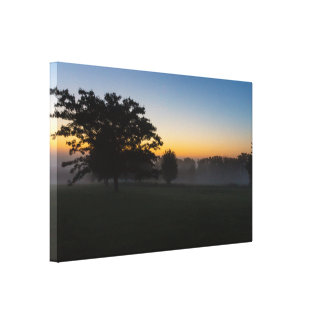 Ozarks August Dawn Canvas Print