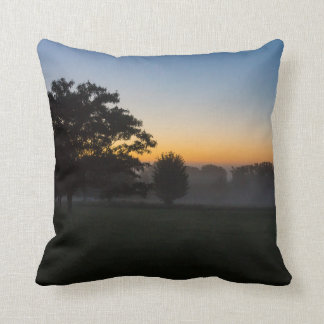 Ozarks August Dawn Throw Pillow