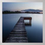 Ozarks Lake And Boat-dock Poster