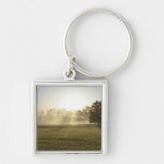 Ozarks Morning Fog Keychain
