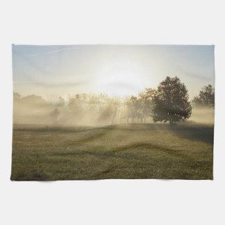Ozarks Morning Fog Kitchen Towel