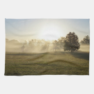 Ozarks Morning Fog Kitchen Towels