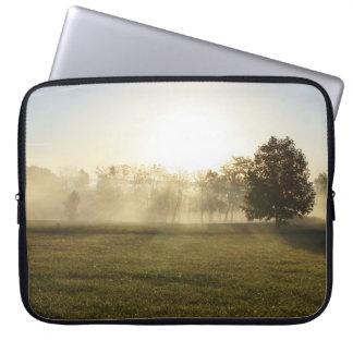 Ozarks Morning Fog Laptop Sleeves
