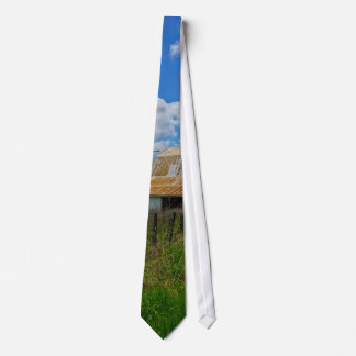 Ozarks Old Barn And Silo Tie