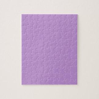 P07 Enchantingly Exquisite Purple Color Jigsaw Puzzle