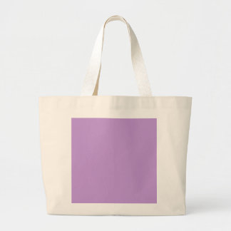 P07 Enchantingly Exquisite Purple Color Large Tote Bag