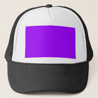 P08 Dramatically Expressive Purple Color Trucker Hat