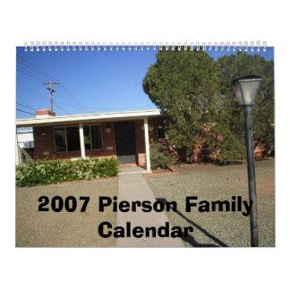 P1010178, 2007 Pierson Family Calendar