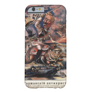 P1331 - The German Anti-Christ_Propaganda Poster Barely There iPhone 6 Case
