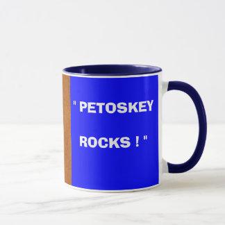 """P2200029, """" PETOSKEYROCKS ! """" MUG"""
