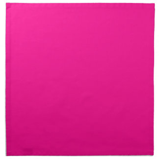 P23  Passion For Pink! Magenta Color Napkin