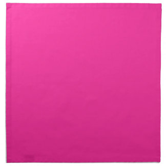 P24 Mad For Magenta! Pink Color Napkin