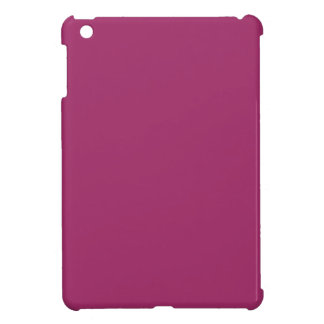P29  Harmoniously Optimistic Magenta Pink Color iPad Mini Cases