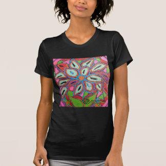 P2 Floral Zebra Mural T Shirt