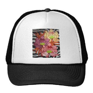 P2 Floral Zebra Mural Trucker Hat